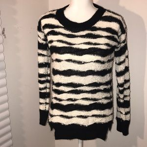 LF Millau striped sweater size small